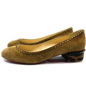 Christian Louboutin Treliliane 30 Brown Shoes 37